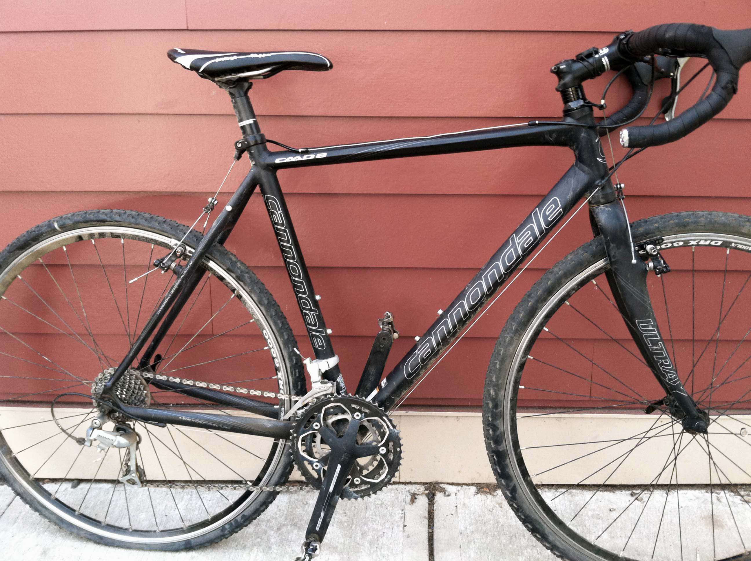 10f57895f2d Rags to Riches: Shedding Pounds on a Cannondale CAAD8