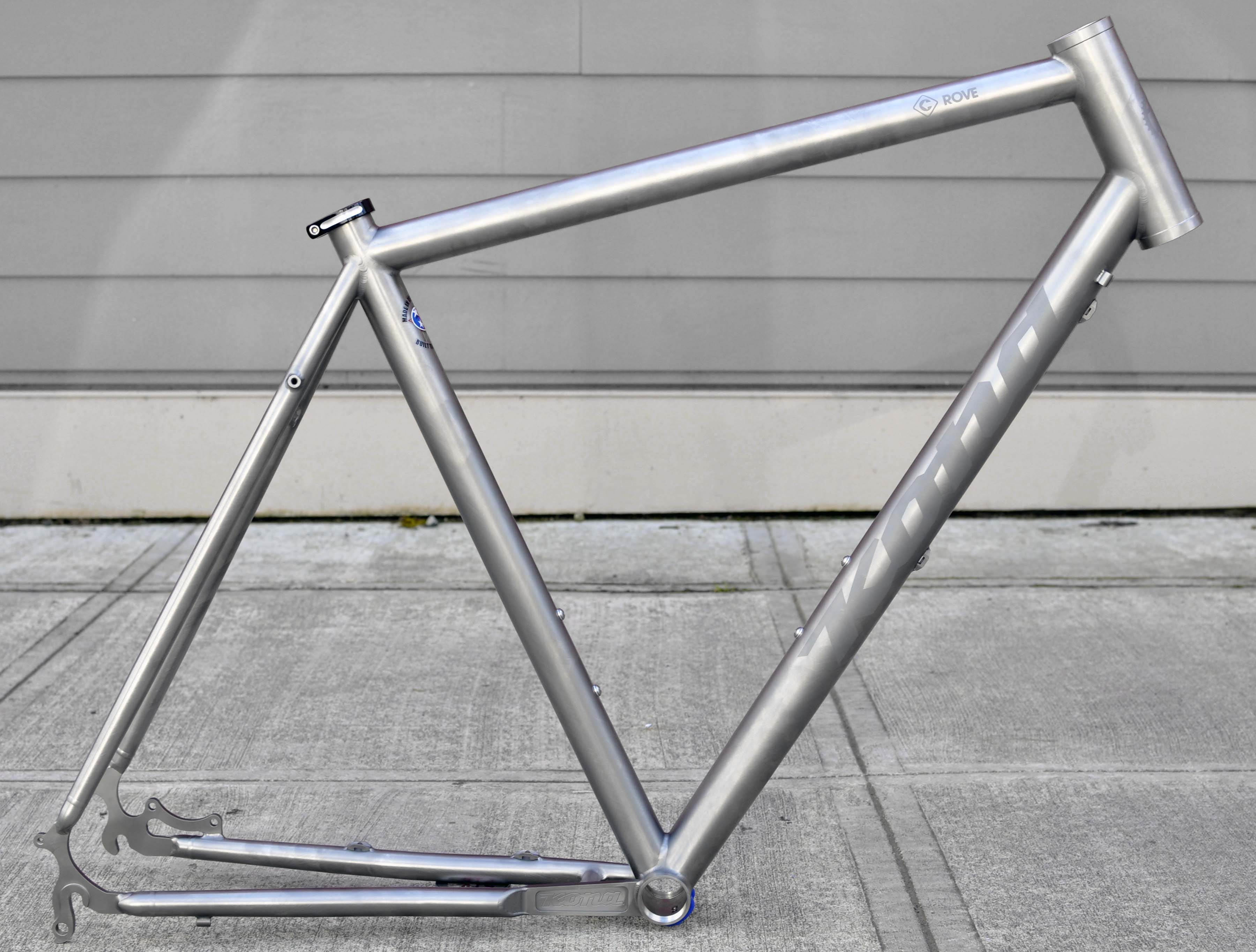 3a9c5195c01 One Bike to Rule Them All: Details of Kona's Ti Rove Frame