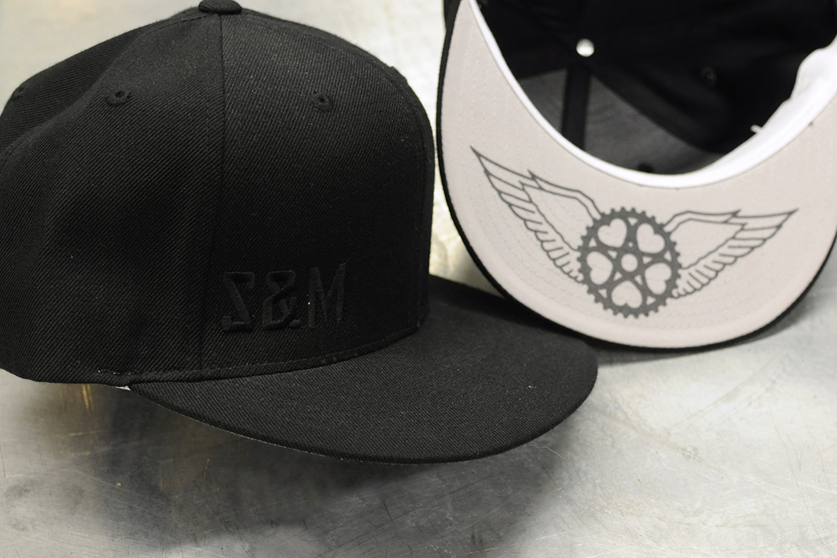 team s&M sellwood cycle flatbrim snapback cap