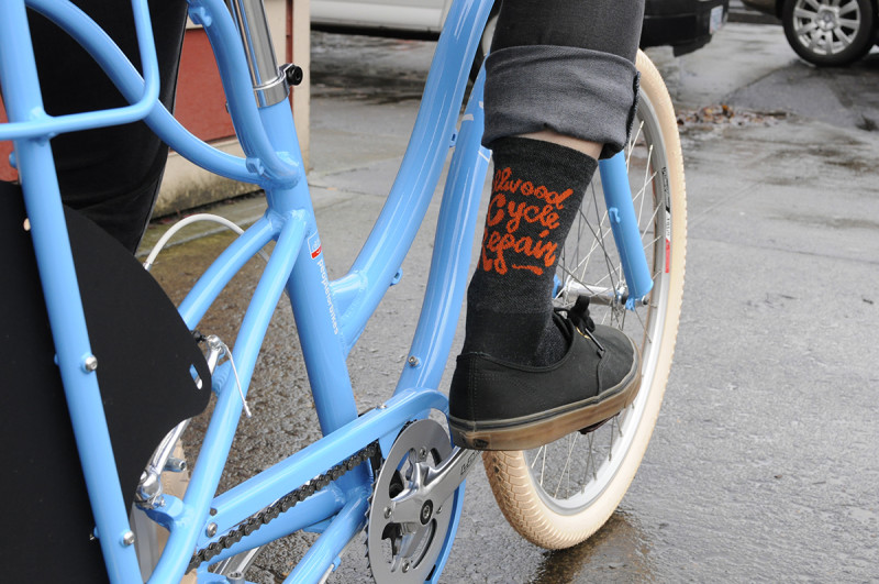 sellwood cycle repair wooleator socks defeet