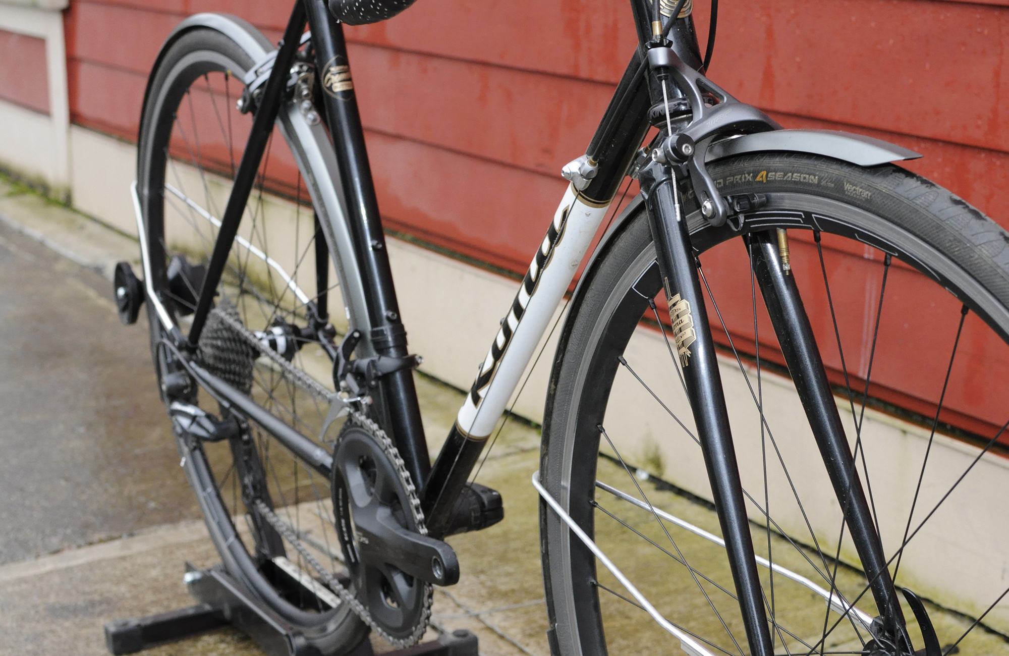 winter bike commuting essentials PDW full metal fenders