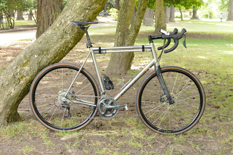 titanium kona ti esatto road bike tituesdays