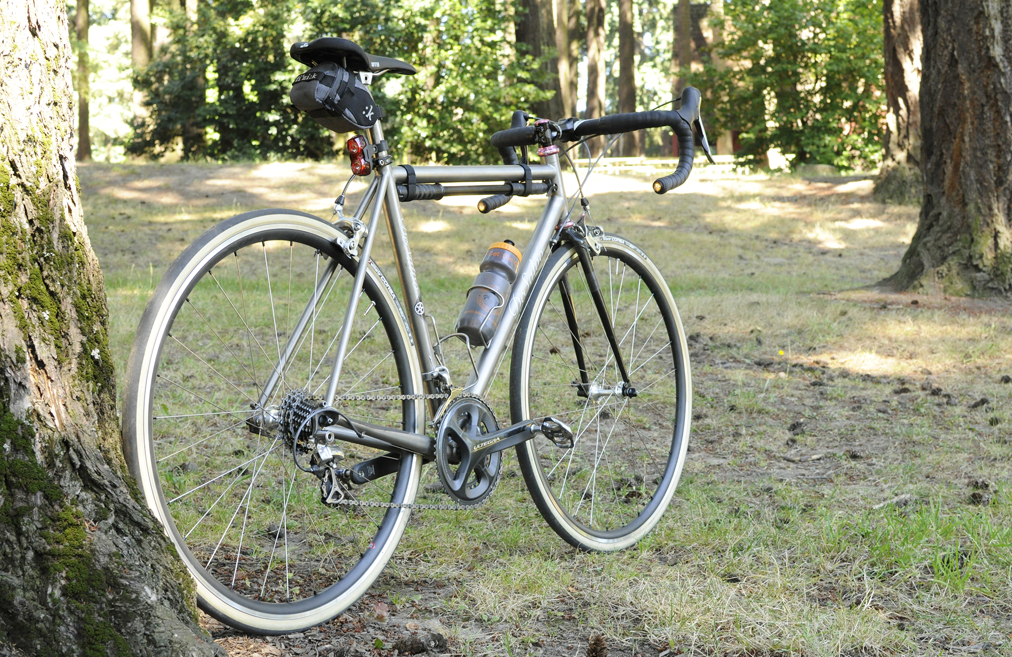 desalvo titanium road bike portland pdx bikesweride