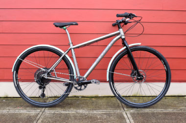 titanium kona rajin sellwood cycle commuter